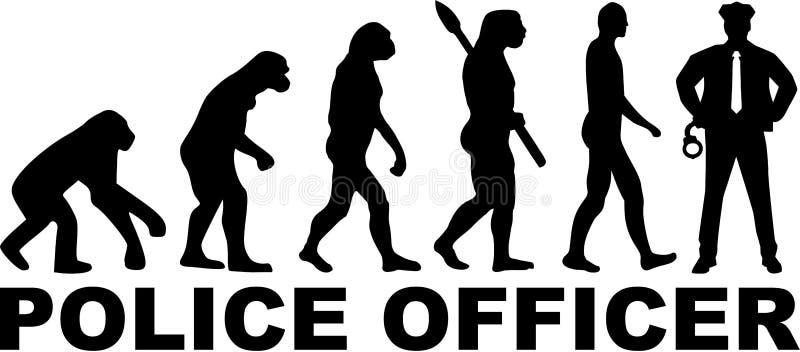 Milicyjna ewolucja formułuje wektor royalty ilustracja