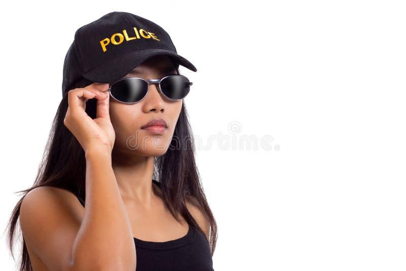 Milicyjna kobieta zdjęcia royalty free