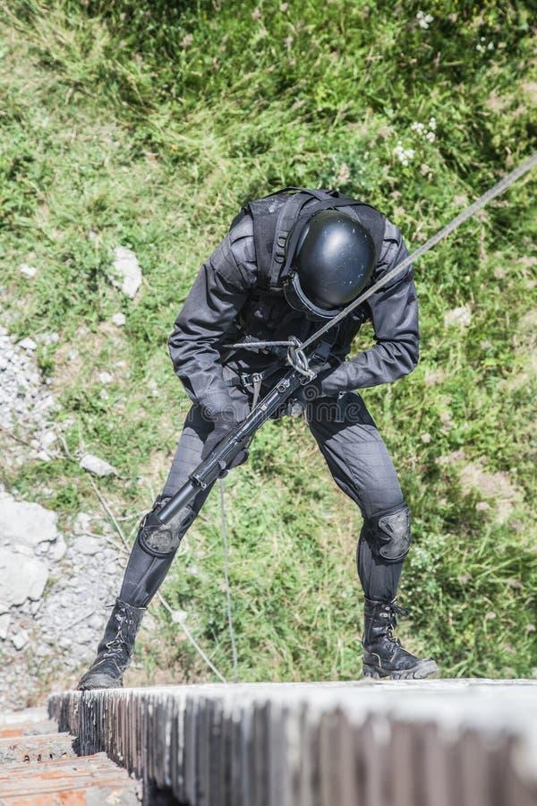 Milicyjna napad operacja obrazy royalty free