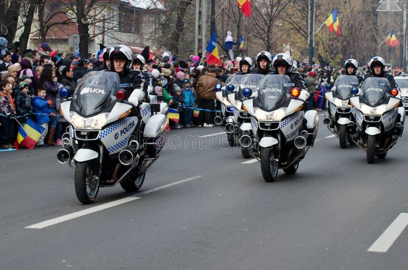Milicyjni motocykle obrazy stock
