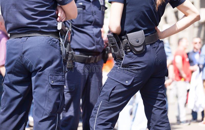 Milicyjny patrol obrazy stock