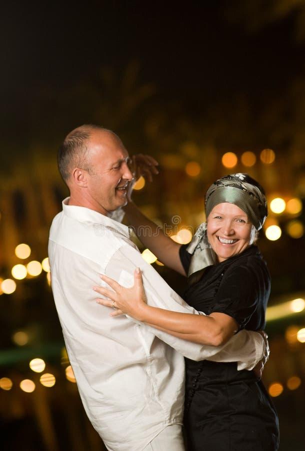 milieu âgé de couples images stock