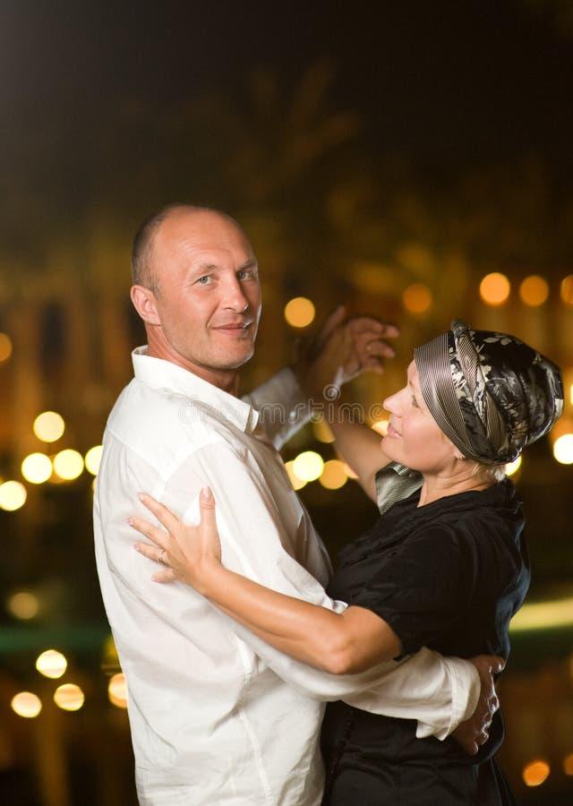 milieu âgé de couples photographie stock libre de droits
