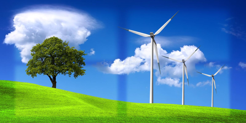 Milieu stock afbeelding