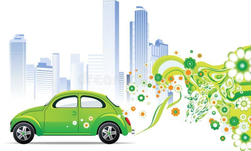 Milieu auto royalty-vrije illustratie