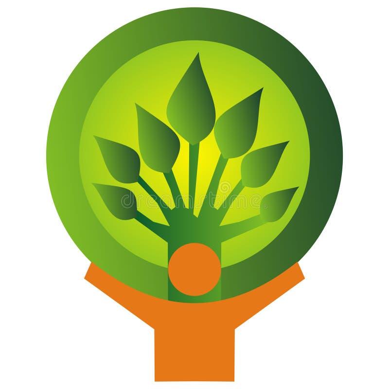 Milieu behoud stock illustratie