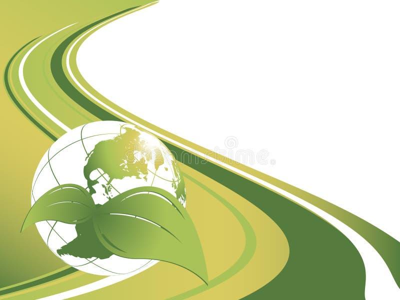 Milieu vectorachtergrond royalty-vrije illustratie