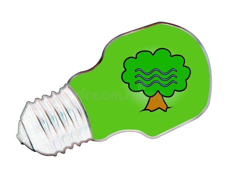 Milieuvriendelijk vector illustratie