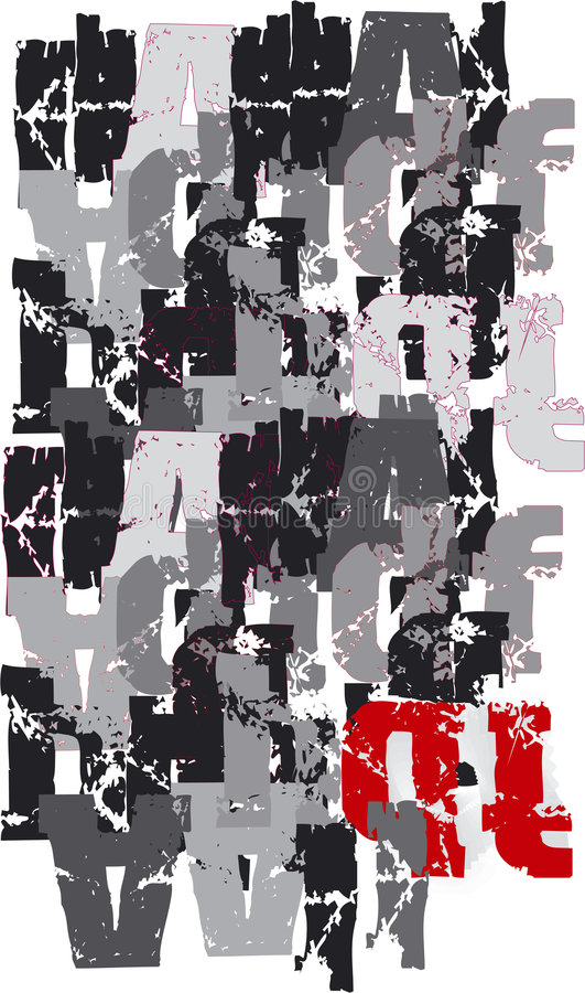 Milieux, abstrait, dessins, illustration stock