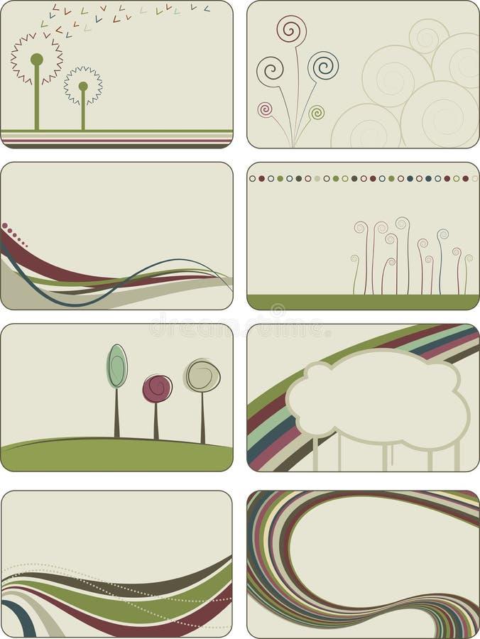 milieux abstraits créateurs illustration stock