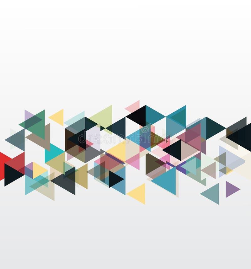 Milieux abstraits et géométriques illustration stock
