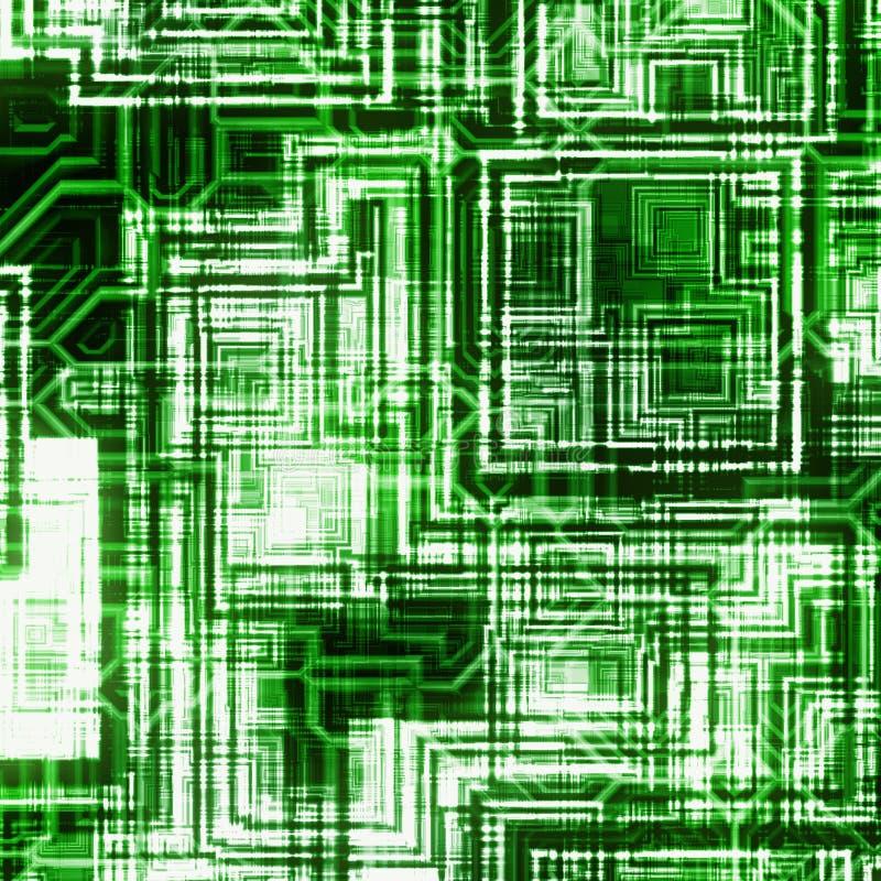 Milieux abstraits futuristes multiples illustration de vecteur