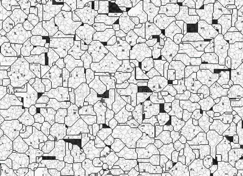 Milieux abstraits futuristes texture douce numérique photographie stock