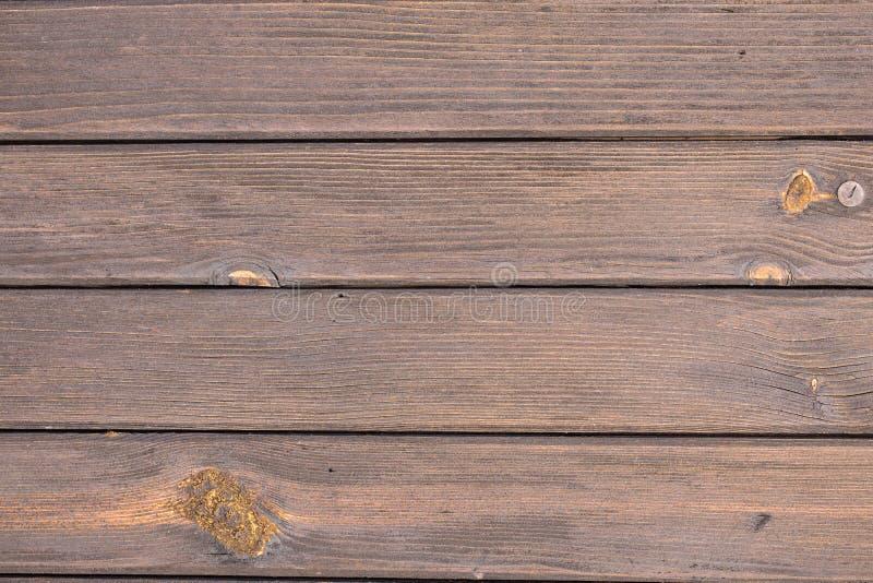 Milieux abstraits : planches en bois brunes et plus anciennes photographie stock libre de droits