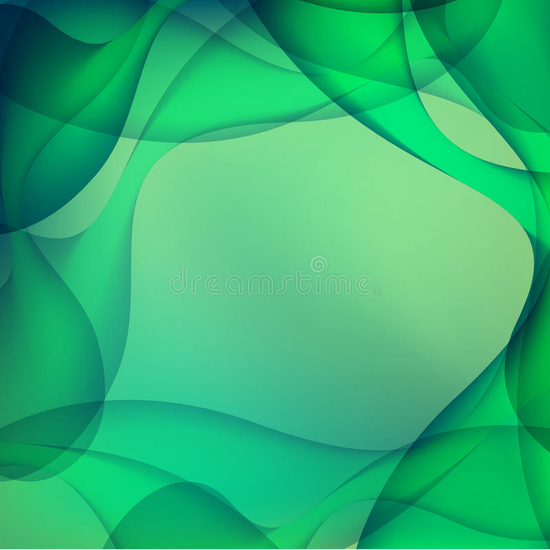 Milieux abstraits verts photo stock