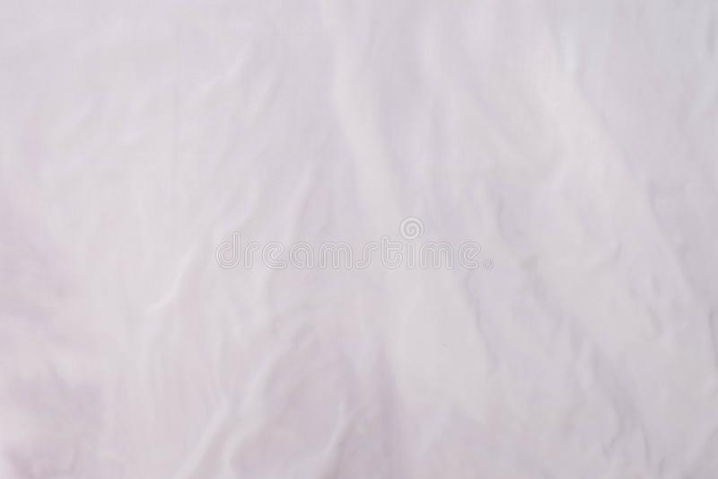 Milieux blancs de plan rapproché de tissu images stock