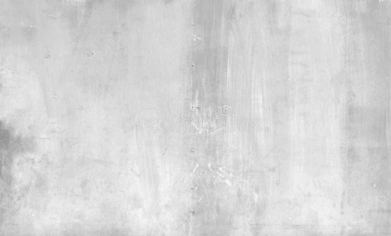 Milieux concrets de vieux mur blanc de ciment texturisés photo libre de droits