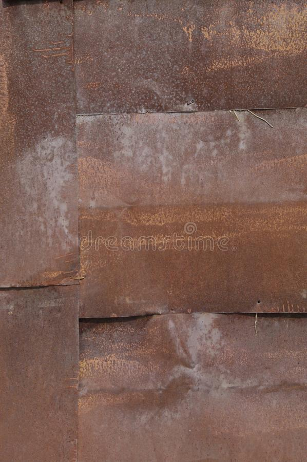 Milieux de fer de Metall images stock