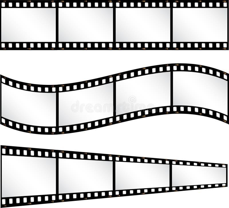 Milieux de Filmstrip illustration de vecteur