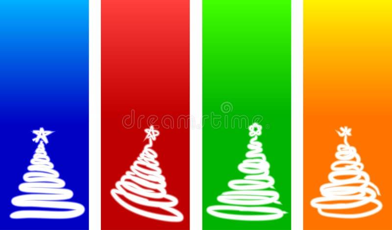 Milieux de Noël. illustration stock