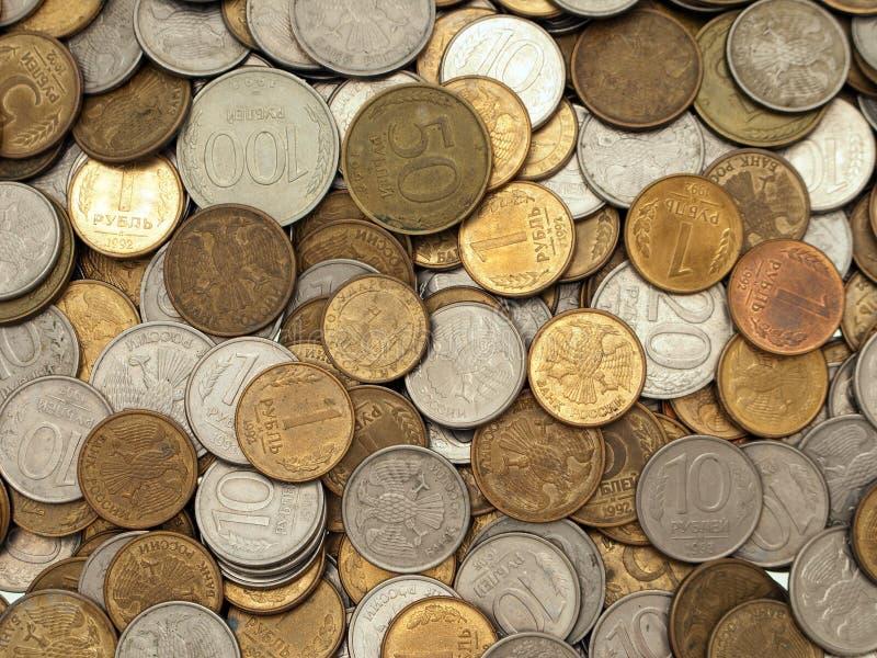 Milieux de pièce de monnaie images libres de droits