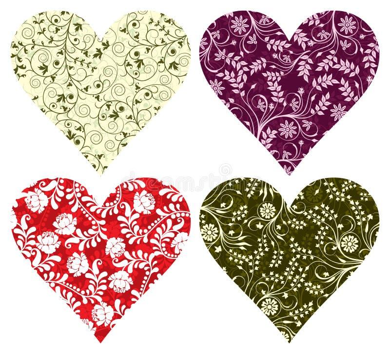 Milieux de Valentine, vecteur illustration stock