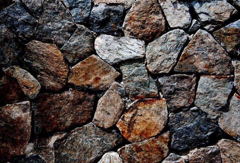 Milieux du mur en pierre images stock