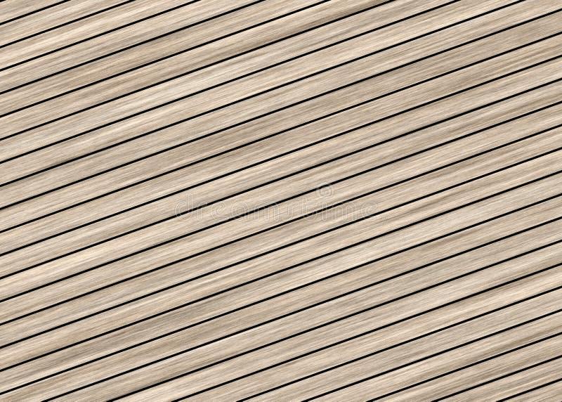 Milieux en bois de plancher illustration libre de droits