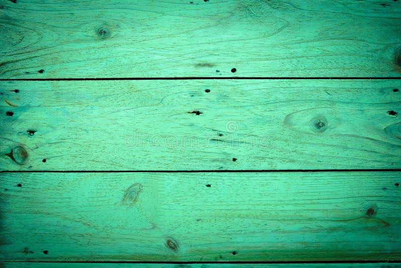 Milieux en bois verts, image de vintage image stock