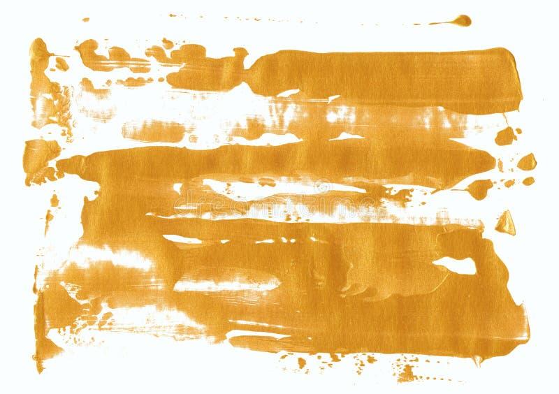 Milieux en bronze de texture de feuille d'or images stock