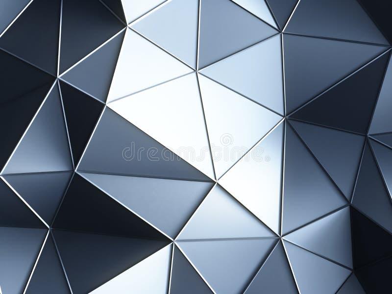 Milieux en cristal illustration stock