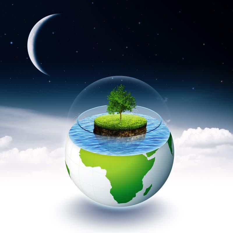 Milieux environnementaux abstraits illustration de vecteur