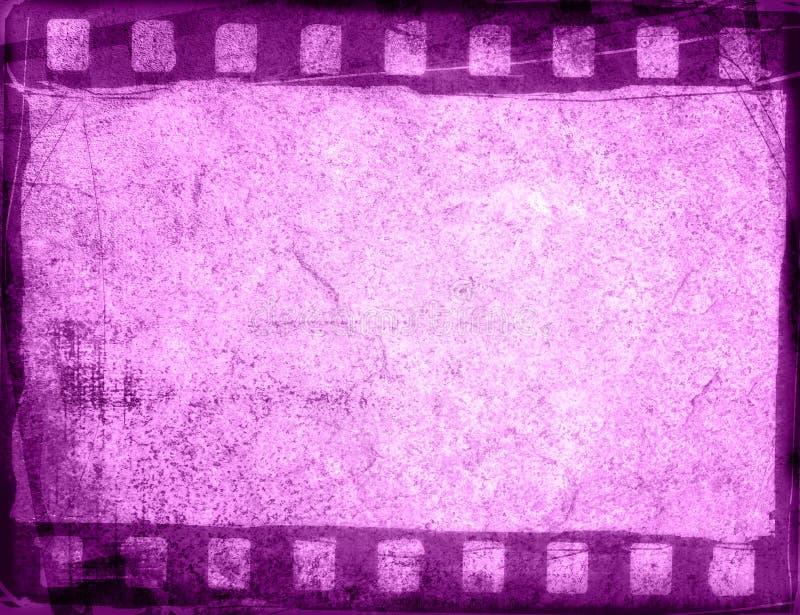 Milieux grunges de bande de film illustration stock