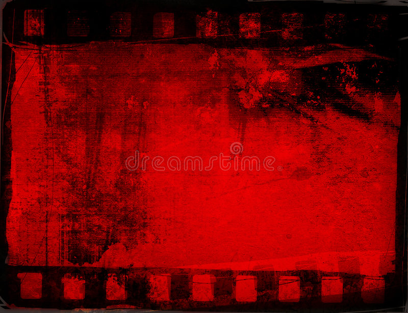 Milieux grunges de bande de film illustration libre de droits