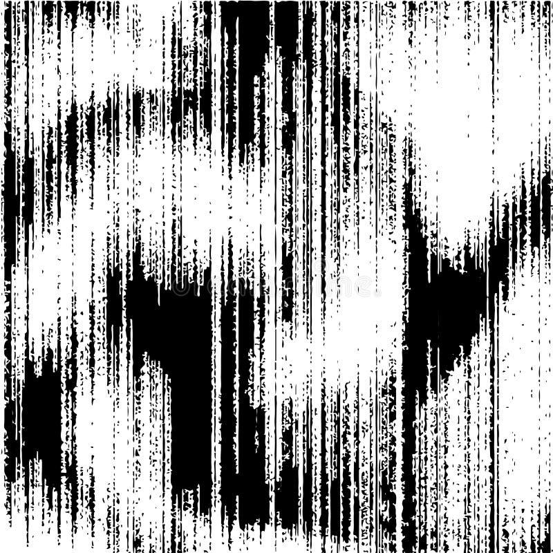 Milieux grunges en noir et blanc Texture grunge avec des lignes illustration stock