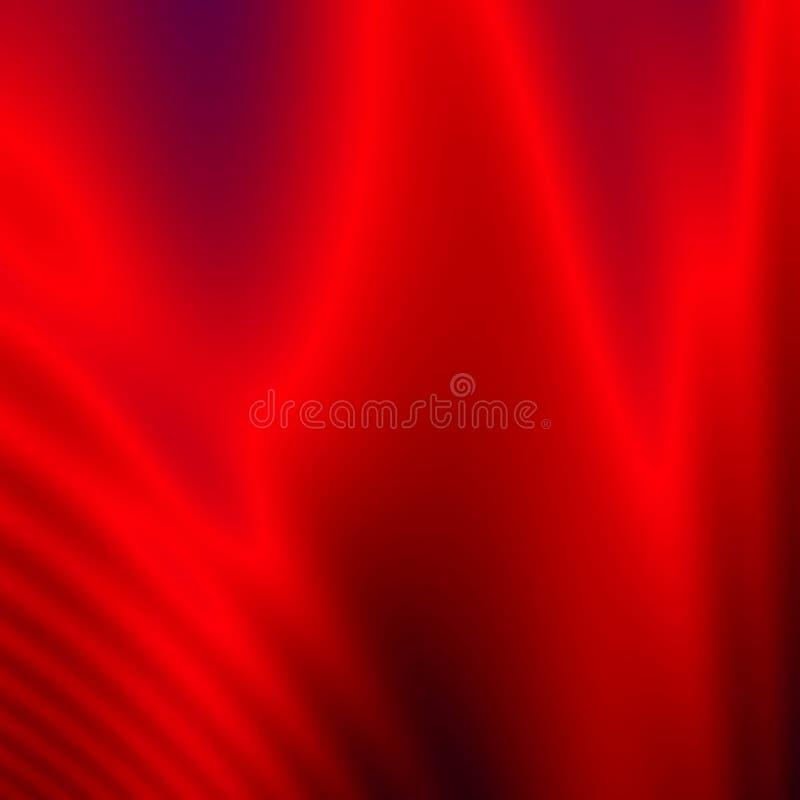 Milieux peu communs d'abrégé sur rouge au néon graphiques illustration libre de droits