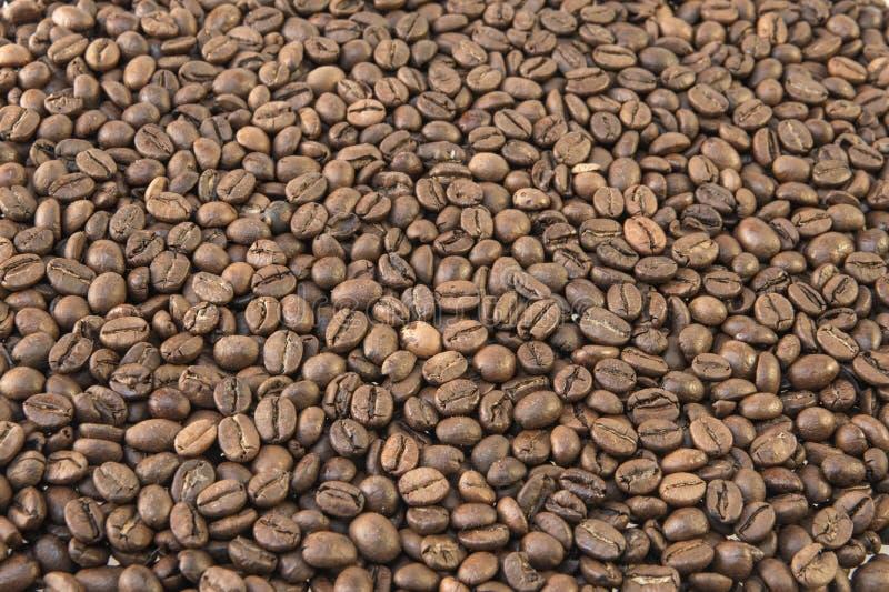 Milieux rôtis de café image libre de droits