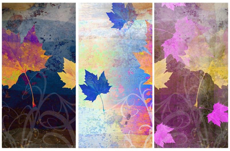 Milieux relatifs d'automne sale illustration stock