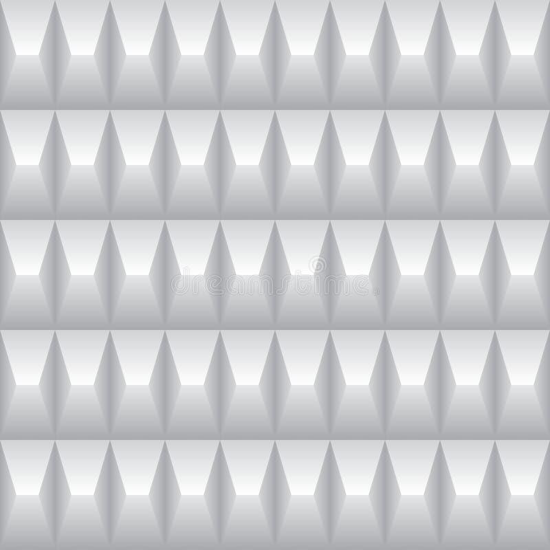 Milieux sans couture en métal 3d illustration de vecteur