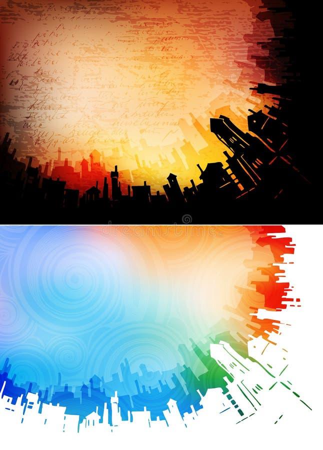 Milieux urbains illustration stock