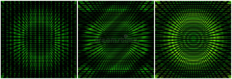 Milieux verts abstraits illustration stock