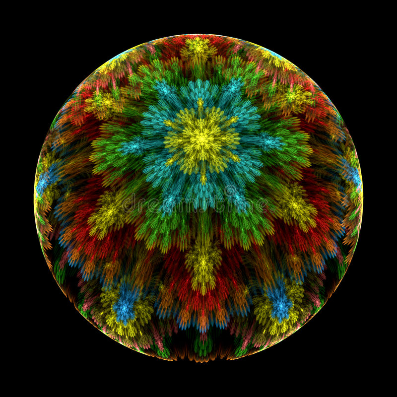 Free Milifiori Crystal Paperweight Stock Photography - 5360082