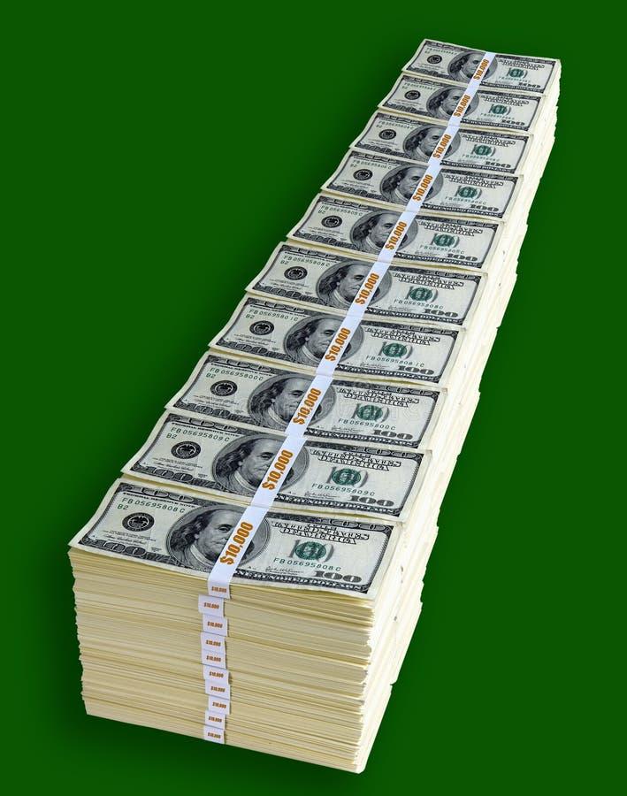 milion dolarów jeden obrazy royalty free