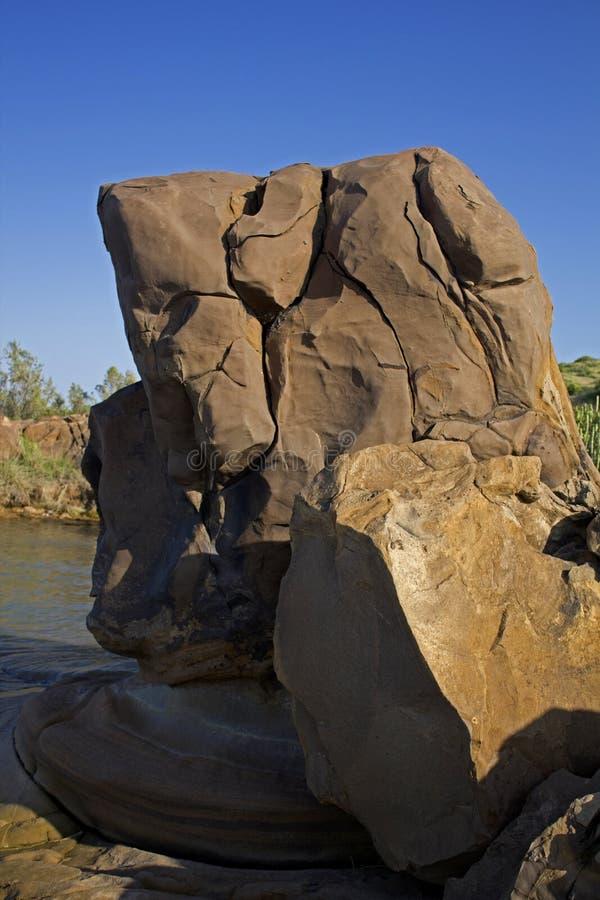 150 milion lat skamieliny zdjęcie stock