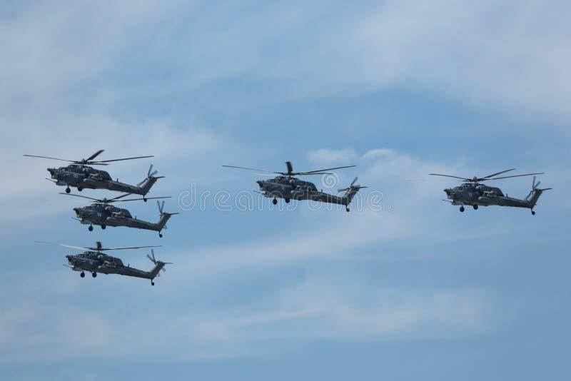 Milipulgada Mi-28 (estrago) imágenes de archivo libres de regalías