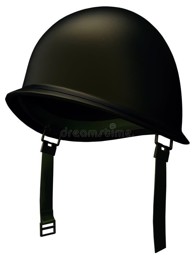 Militär hjälm vektor illustrationer