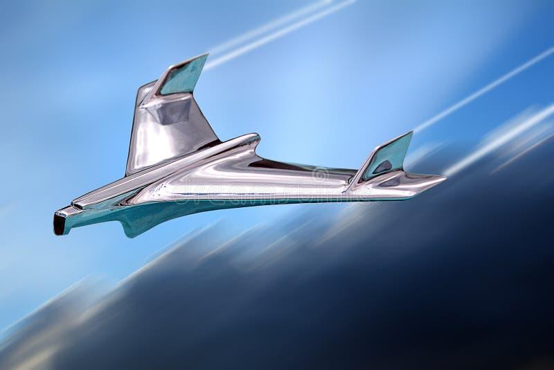 Militär jaktflygplan för prototyp på provflyg royaltyfri bild
