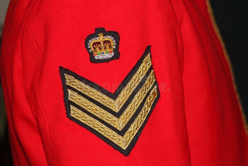 Militär likformig royaltyfria bilder