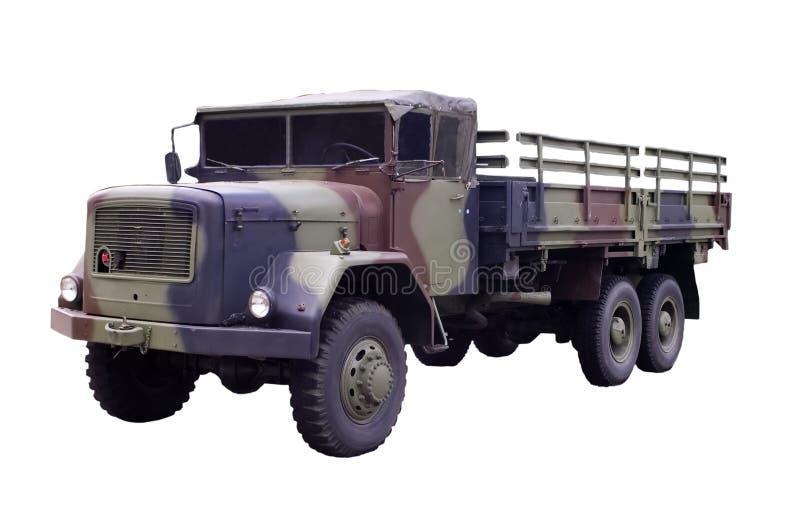 Militär-LKW stockfotos