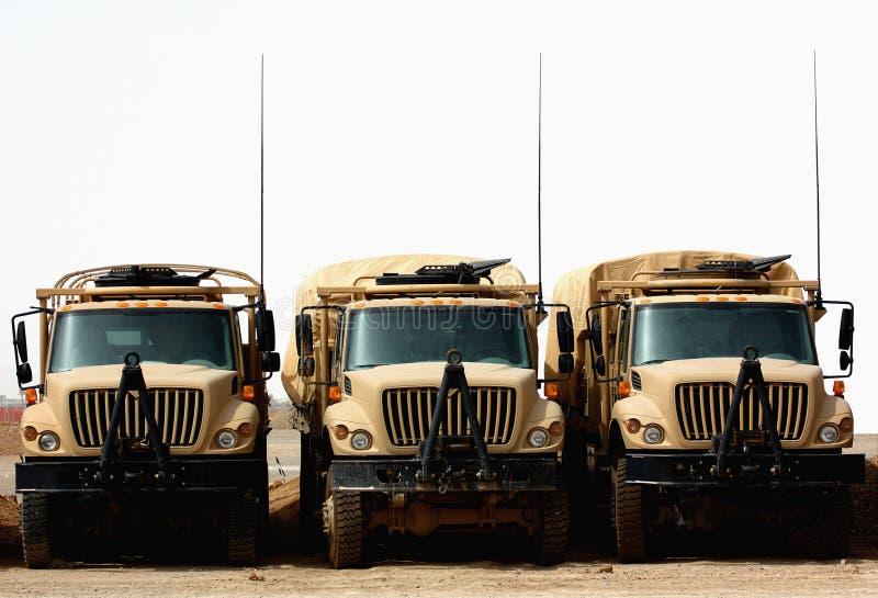 Militär-LKWas stockbilder